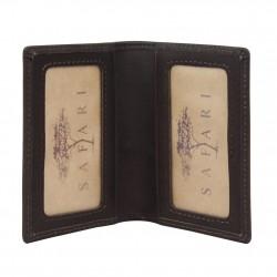 Petit porte cartes cuir brut Safari Vintage SAFARI - 2