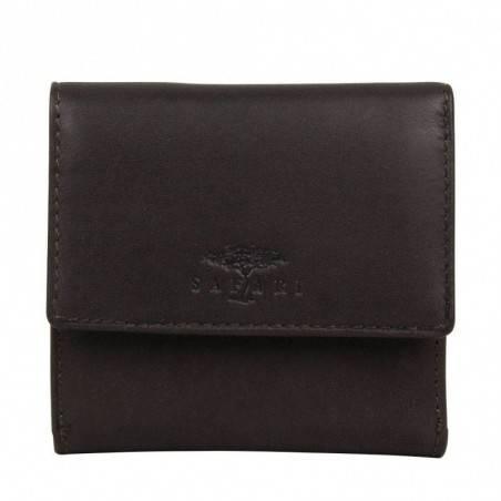 Porte monnaie porte cartes billets cuir brut Vintage Safari SAFARI - 1
