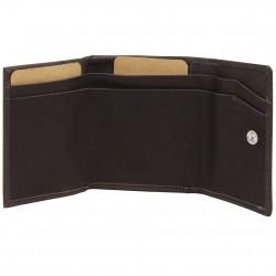Porte monnaie porte cartes billets cuir brut Vintage Safari SAFARI - 3