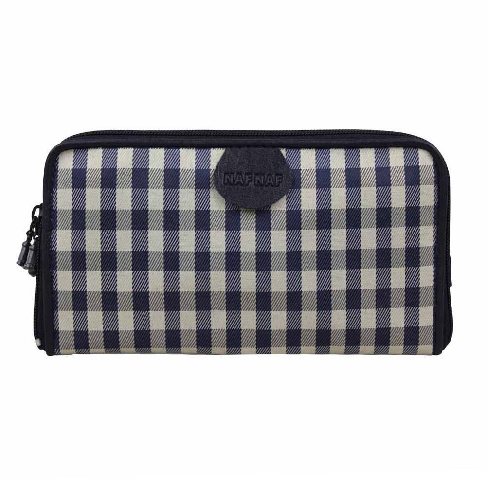 Portefeuille à zip ou pochette ceinture écossais Naf Naf  A DÉCOUVRIR ! - 1