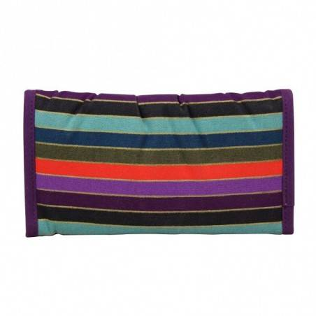 Portefeuille ultra plat toile multicolore Roxy Cilla XEWWT066 ROXY - 2