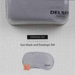 Kit masque de sommeil et boules antibruit Delsey 3940030 DELSEY - 2