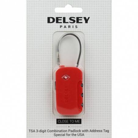 Cadenas codes TSA avec porte adresse Delsey 3940220 DELSEY - 1