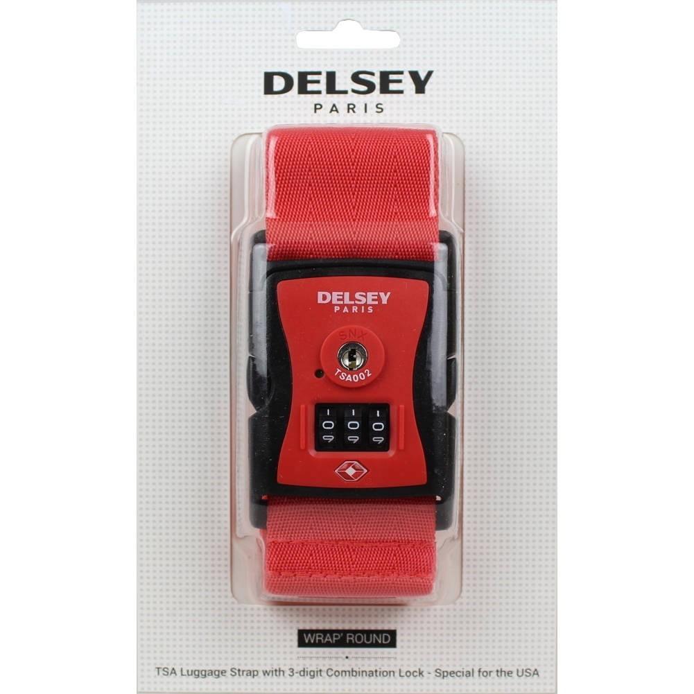Sangle à bagage à codes spécial USA TSA Delsey 3940091 DELSEY - 1