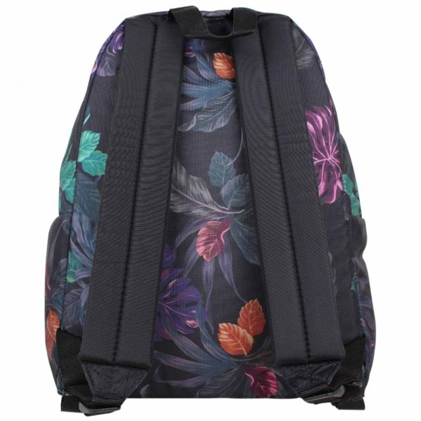 sac dos eastpak motif imprim fleurs violet ek620 padded pak 39 r 30q purple brize. Black Bedroom Furniture Sets. Home Design Ideas