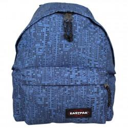 Sac à dos Eastpak EK620 27Q motif  Blocks Bleu EASTPAK - 1