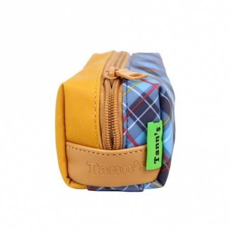 Trousse Tann's Les Bons Enfants Tartan 11216 écossais trousse simple 1 compartiment