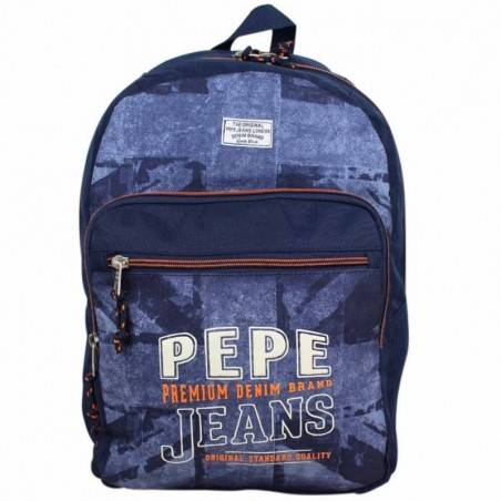 Sac au dos Pepe Jeans drapeau Anglais bleu 65623 1s Pepe Jeans - 1