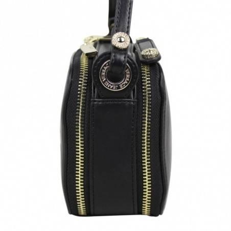 Sac bandoulière Versace Jeans noir mat motif logo Versace Jeans - 3