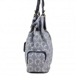 Grand sac à main / épaule toile motif Lancaster LANCASTER - 2