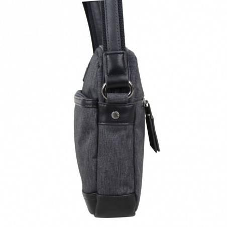 Pochette noir cuir Patrick Blanc 403023 PATRICK BLANC - 3