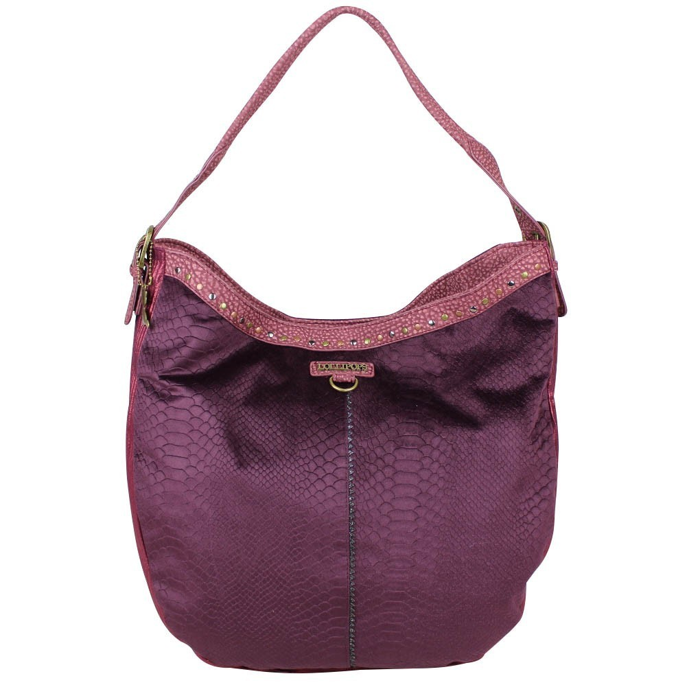 Grand sac demi lune Lollipops toile ultra-souple Atak Hobo LOLLIPOPS - 1