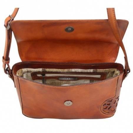 Sac à rabat Arthur et Aston cuir vintage Dicky teinté main ARTHUR & ASTON - 11