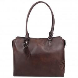 Sac shopping Arthur et Aston cuir vintage Dicky teinté main ARTHUR & ASTON - 1