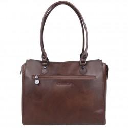 Sac shopping Arthur et Aston cuir vintage Dicky teinté main ARTHUR & ASTON - 2