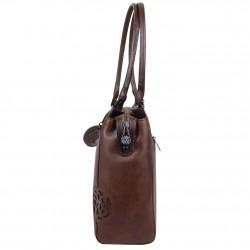 Sac shopping Arthur et Aston cuir vintage Dicky teinté main ARTHUR & ASTON - 3