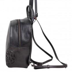 Petit sac à dos Arthur et Aston cuir vintage Dicky teinte main ARTHUR & ASTON - 8