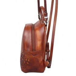 Sac bandoulière à rabat Arthur et Aston cuir vintage Dicky  ARTHUR & ASTON - 2