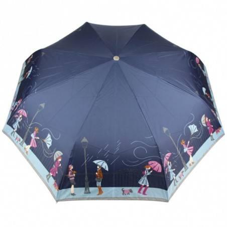 Parapluie pliant Pierre Vaux ouverture / fermeture auto déco Tempête