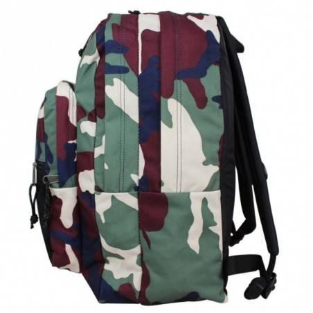 Sac à dos Eastpak motif imprimé camouflage vert Pinnacle EK060 01R Camo Green
