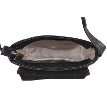 Mini sac bandoulière en cuir semi rigide à rabat Chabrand  CHABRAND - 3