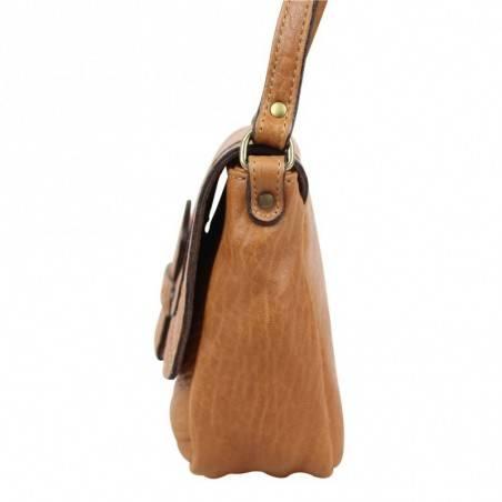 Mini sac bandoulière en cuir souple à rabat Chabrand CHABRAND - 2