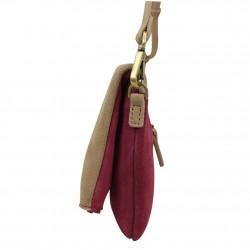 Sac pochette bandoulière en croûte de cuir à rabat Chabrand  CHABRAND - 3