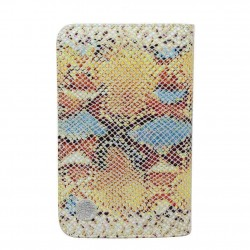 Grand portefeuille porte monnaie Patrick Blanc cuir effet lézard PATRICK BLANC - 1