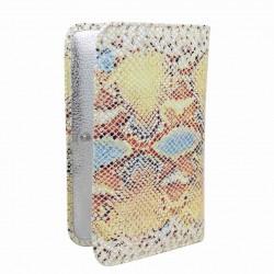 Grand portefeuille porte monnaie Patrick Blanc cuir effet lézard PATRICK BLANC - 3