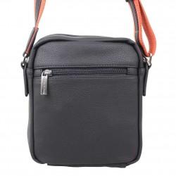 Pochette en cuir de marque Wylson en cuir noir w8144-6  PATRICK BLANC - 3