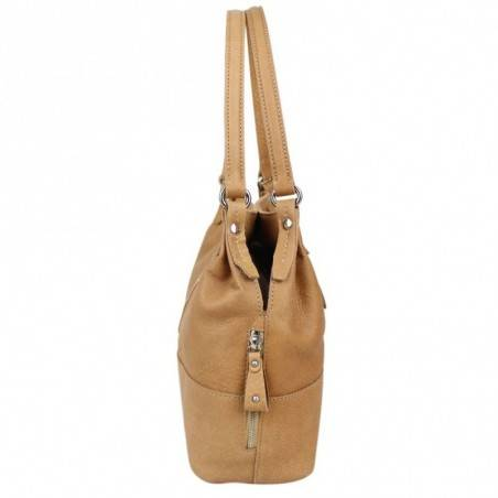 Petit sac bandoulière cuir Patrick Blanc 100115 PATRICK BLANC - 6
