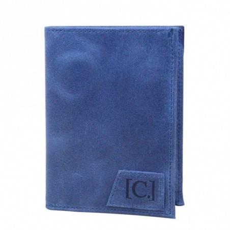 Porte monnaie + cartes en cuir effet brute C. By Claudia Luc Fabriqué en France C. By Claudia Luc - 1