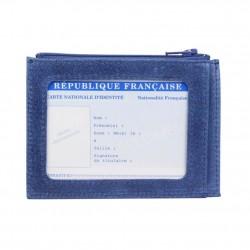 Petit porte papier plat cuir Claudia Luc Fabrication France C. By Claudia Luc - 1