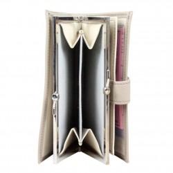 Porte monnaie + cartes en cuir effet brute C. By Claudia Luc Fabriqué en France C. By Claudia Luc - 3