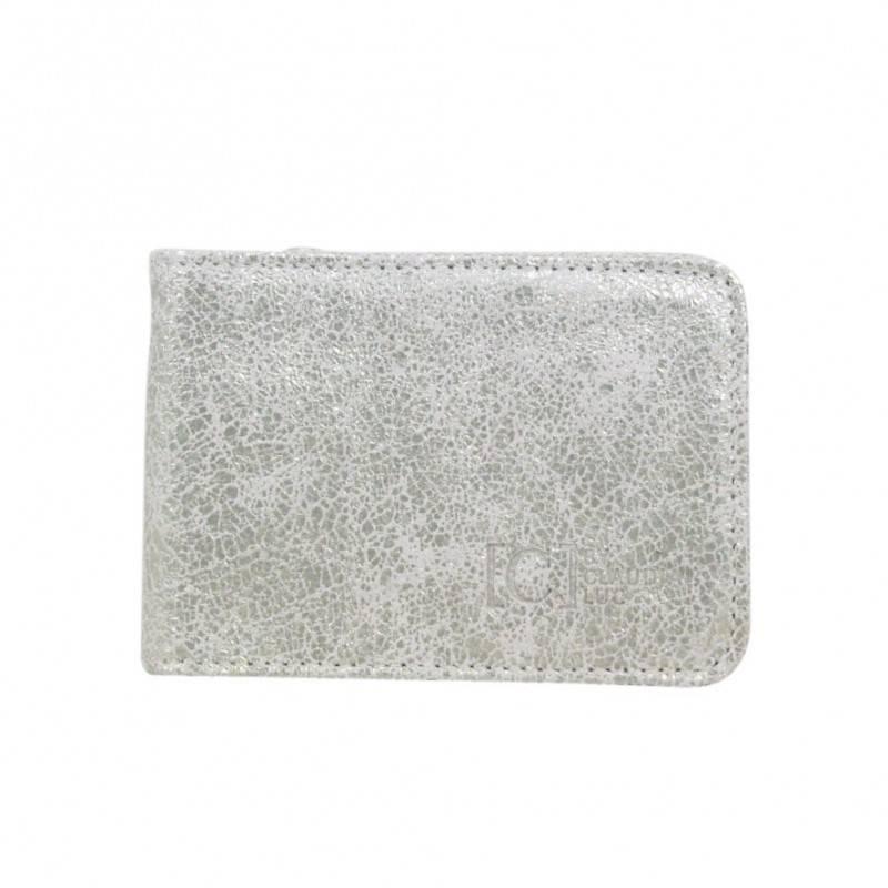 Porte cartes cuir plat Claudia Luc Fabrication France FOURTEEN C. By Claudia Luc - 4