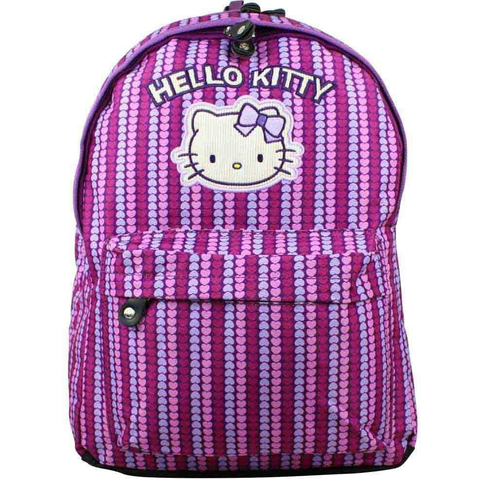 Grande trousse Hello Kitty imprimé coeurs 2 compartiments HPC20010 HELLO KITTY - 1