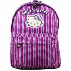 Sac à dos Hello Kitty motif imprimé coeurs 2 compartiments HELLO KITTY - 1