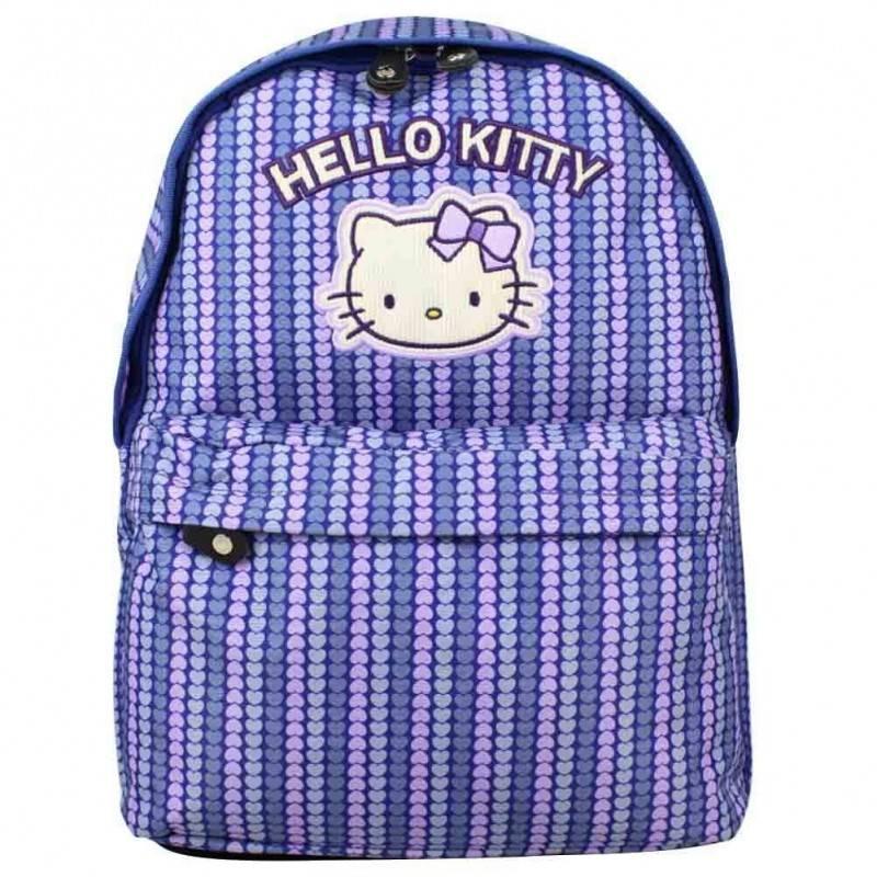 Sac à dos Hello Kitty motif imprimé cœurs (1s) HELLO KITTY - 1