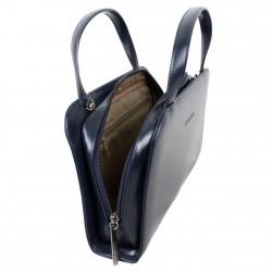Le sac à main Arthur et aston en cuir de vachette souple mais avec une bonne tenu ARTHUR & ASTON - 3