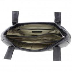 Sac porté épaule cuir forme en hauteur avec petit papillon Bamboo 9193 A DÉCOUVRIR ! - 3