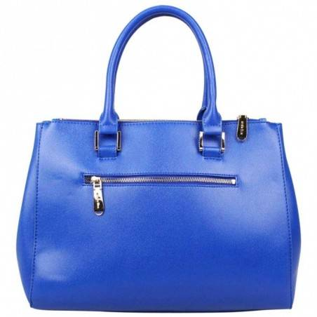 Petit sac trapèze bandoulière demi chaîne Andie Blue A8095 A DÉCOUVRIR ! - 4