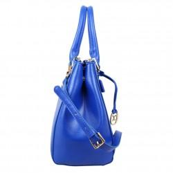 Petit sac trapèze bandoulière demi chaîne Andie Blue A8095 A DÉCOUVRIR ! - 2