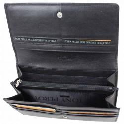 Grand porte monnaie rabat cuir souple Tony Perotti Colorado Tony PEROTTI - 5