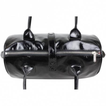 Sac épaule bowling verni Texier fabriquer en France 25103 TEXIER - 3