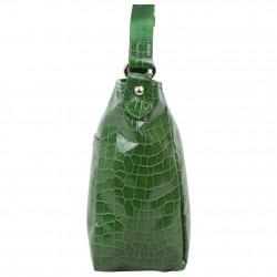 Petit sac bandoulière Lancaster style croco verni 541-11 LANCASTER - 2