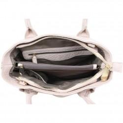 Moyen sac à main bandoulière Elite X E6197 trapèze  ELITE - 3