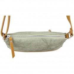 Petit sac bandoulière FUCHSIA Milli bande toile délavée vert FUCHSIA - 3