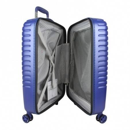Trolley valise cabine SLIM avec roues DELSEY Caumartin bleu DELSEY - 4
