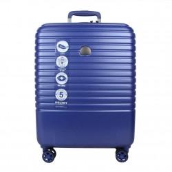 Trolley valise cabine SLIM avec roues DELSEY Caumartin bleu DELSEY - 1