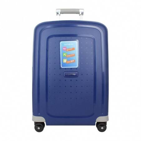 Valise trolley cabine Samsonite S'Cure Spinner 55 bleu SAMSONITE - 1